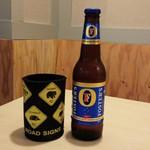 プラスアルファキッチン - オージー流で提供します。オージービールは6種類!