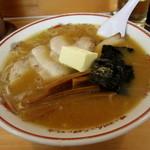 吾作 - 料理写真:味噌ラーメン¥700円+バター¥50円