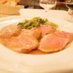 トラットリア ダル・ビルバンテ・ジョコンド - 和牛モモ肉のソテー