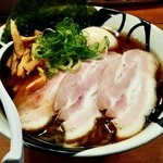 凌駕IDEA - 「特製煮干醤油ラーメン」¥1,030(税込)