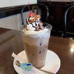モッコス珈琲館 松橋本店 - アイスカフェショコラ