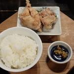 川尻ラーメン けんだま - ミニ定食セット