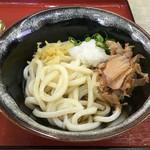 室町うどん - 料理写真:ぶっかけ300円