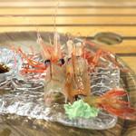 新湊鮮魚センター - ぼたん海老 抜けガラ