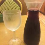 サイゼリヤ - 赤ワイン デカンタ 250ml ¥200