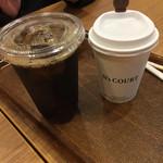 エヌズコート - ホットコーヒーとアイスコーヒー(^∇^)