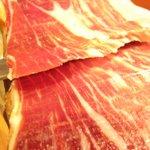 鉄板ダイニングほたる - 本場スペインのハモン・セラーノ
