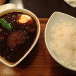 スープカレー屋 鴻 - 黒・国産牛100%手造りハンバーグ