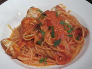 アリエッタ - ワタリガニのトマトクリームスパゲッティ