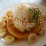 フルーツアイランド百果園 - パンケーキ(バナナキャラメル)