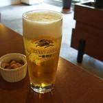 Cafe Contigo - 生ビール