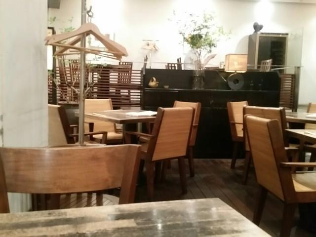 麻布 川上庵 - 店内。