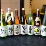 お食事処 多七 - 日本酒各種