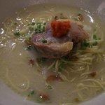 鳥料理 有明 - 2010年9月 軍鶏水炊きラーメン