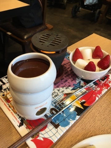 MAX BRENNER CHOCOLATE BAR 広尾プラザ店 - 2016年4月