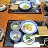 吾妻屋 - 料理写真:夕食の配膳