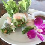 50897668 - 海老を包んだベトナム風生春巻き
