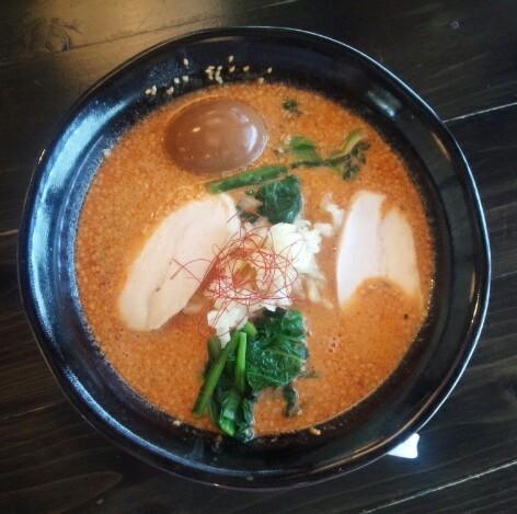 麺屋 葵 - 坦々麺780円・味玉クーポン券使用/平成28年5月