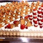 Cafe de 武 - パーティー用ケーキ