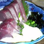 十八番 - カツオ刺身