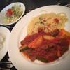 ブカティーニ - 料理写真:日替わりランチ、牛肉と野菜の煮込み870円