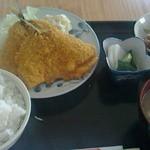 喜鹿 - 料理写真:アジフライ定食