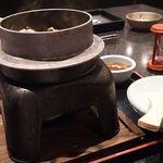 牛庵 - チーズビビンパ旨いっすよぅ^^;