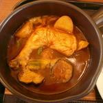 スープカレー専門店 MARU - レギュラーカレー+骨付き鶏のあっぷ