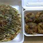 お好み焼・たこ焼 松おい - 料理写真:ミックス焼き 850円&たこ焼き 270円