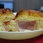 ポンパドウル - ハムとクリームチーズ