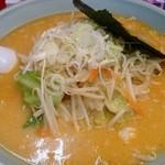 元吉田 - 野菜たっぷり味噌ラーメン¥680(麺固め)