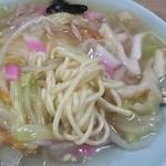 50907651 - 皿うどん 太麺アップ