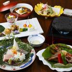日本料理 ちくま庵 - 料理写真:おまかせ五品