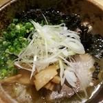麺や 琥張玖 KOHAKU - 塩らーめん 760円