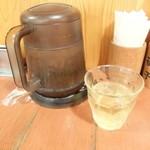 中国ラーメン揚州商人 - ジャスミン茶