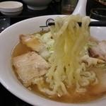 喜多方ラーメン 坂内 小法師 - 平打ちの熟成多加水麺