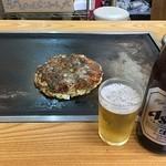 えみちゃん - すじ焼き&ビール
