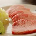 焼肉食道 かぶり - 料理写真:厚切りタン塩