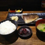 50912663 - 炙り〆鯖定食(980円)