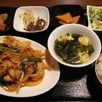 50918837 - デジ(豚)焼肉定食