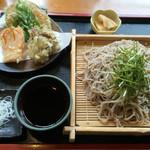 橋倉屋 - 野菜天ざる