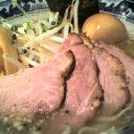 麺屋 黒船 - チャーシュー麺(塩)+煮たまご