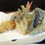 山月 - 小ぶりな天ぷら