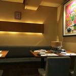 澤 - 店内 テーブル席