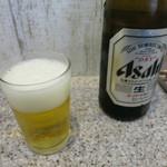 ラーメン王 後楽本舗  - 瓶ビール 500円