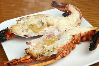 海鮮 大和 - 伊勢海老残酷焼きはビックリするほど美味い‼︎