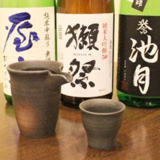 【和食には、やっぱり日本酒】
