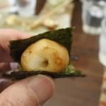 古都香 - 海苔はこうやって食べた