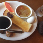 コーヒー ショップ フジ - 料理写真:スープなかなか旨し モーニングセット