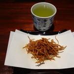 夢想庵 - 揚げ蕎麦とお茶